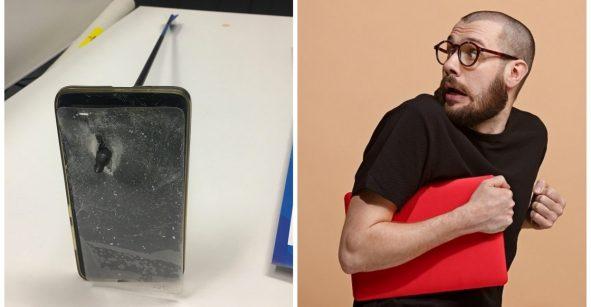 Microinfarto: Sobrevivió a un ataque con arco porque su celular paró la flecha