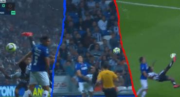 El golazo de chilena de Avilés Hurtado y la remontada de Cruz Azul en Monterrey