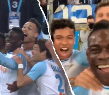 Balotelli marcó un golazo con el Marsella y lo festejó en Instagram Stories 盧