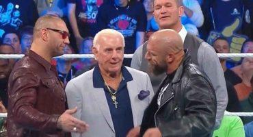 ¡Hay tiro, Carlitos! Batista amenazó con liquidar a Triple H en Wrestlemania 35