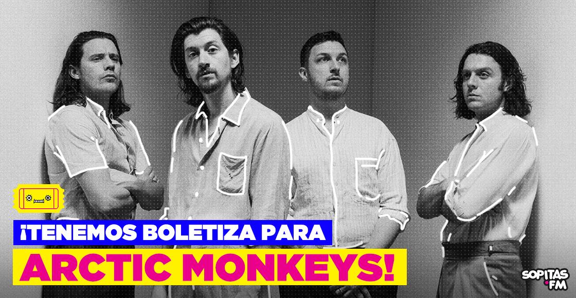 Boletiza Arctic Monkeys