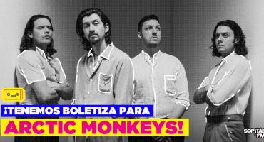¡Detengan todo porque ya llegó la boletiza para los Arctic Monkeys!