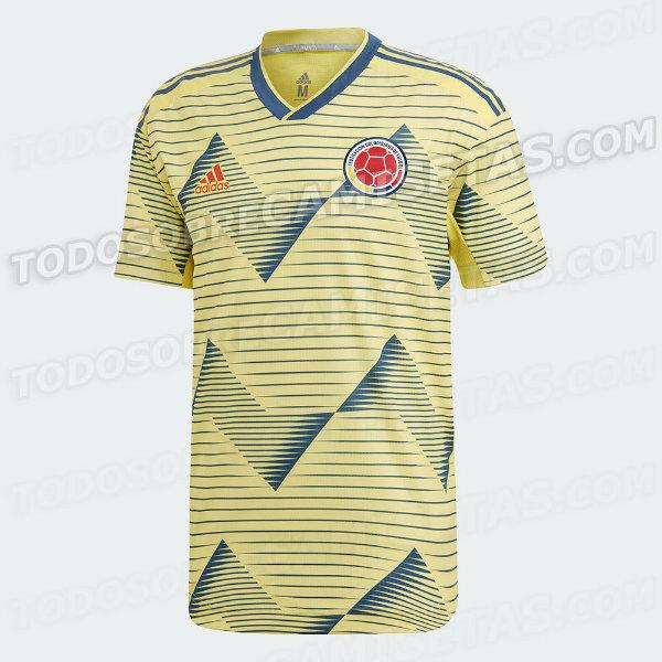 Estos serían los nuevos y 'elegantes' uniformes de Colombia y Argentina para la Copa América 2019