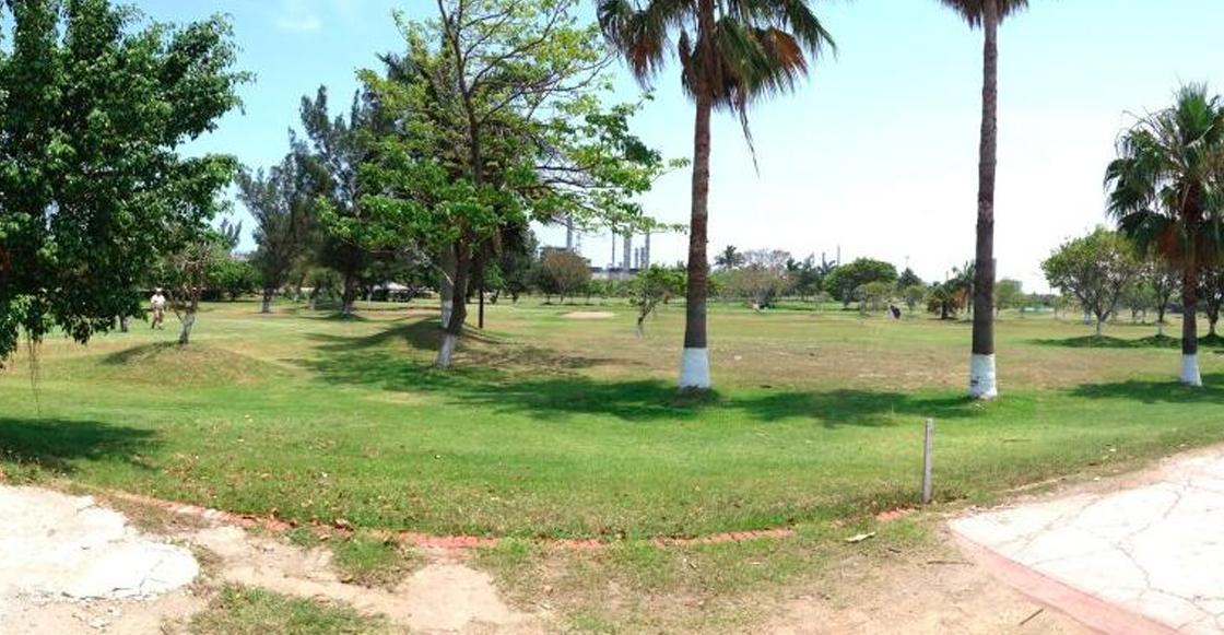 Detectan toma clandestina en campo de golf de Pemex en Tamaulipas