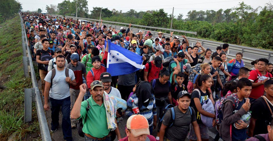 Una nueva caravana de migrantes sale de México rumbo a EE.UU