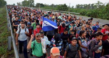 Nueva caravana migrante va rumbo a Estados Unidos; siguen en Chiapas