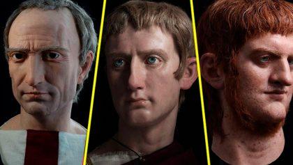 Césares de Roma: Devolviendo vida a los emperadores con esculturas hiperrealistas