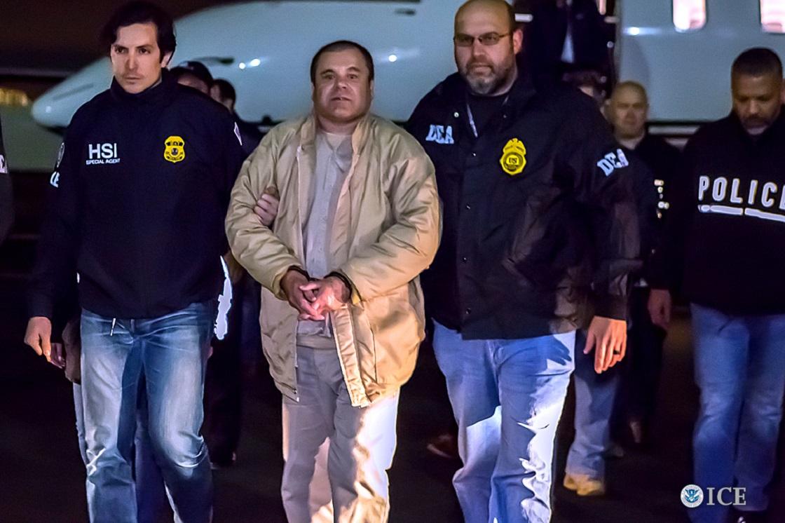 El Chapo Guzmán arrestado