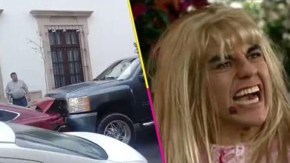 Celosa nivel: Le chocó el auto a su pareja (dos veces) porque lo vio con otra mujer