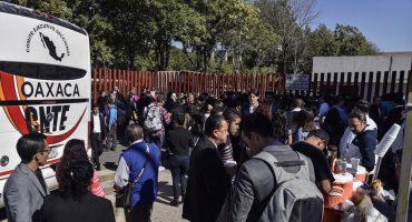 Día de la Marmota: la CNTE bloquea la entrada a la Cámara de Diputados