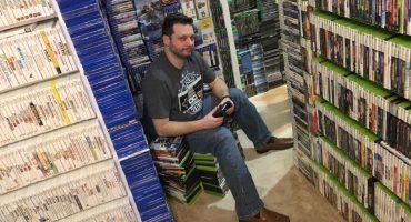 ¡Este sujeto tiene la colección de videojuegos más grande que existe!