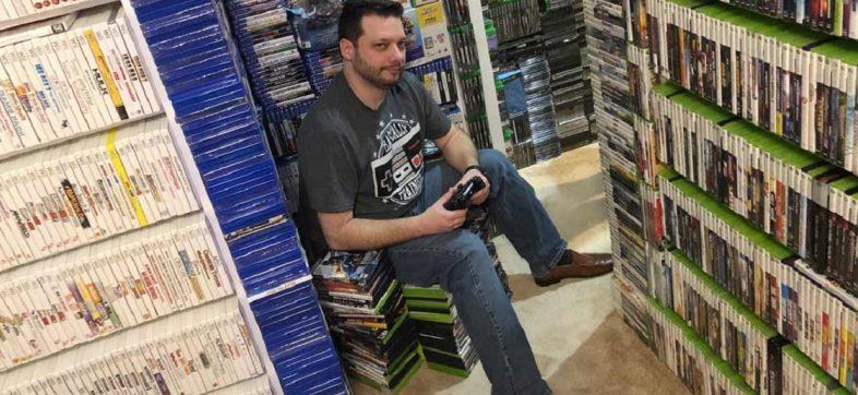 El sujeto con el Récord Guinness por mayor colección de videojuegos
