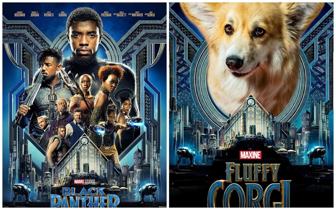 Corgi - Pósters de películas conocidas