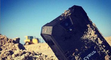 Cyrus, el smarthphone sumergible que aguanta caídas hasta de 2 metros 📲