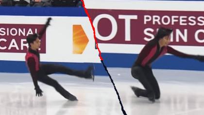 Donovan Carillo se lesionó y quedó fuera de la Final del Campeonato Mundial de Patinaje