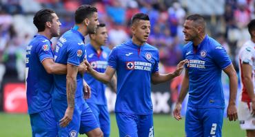 El triunfo de Cruz Azul con conato de pelea incluido entre Méndez y Aguilar