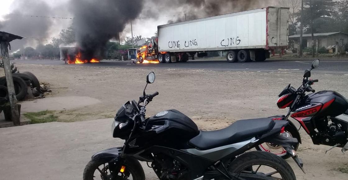 Resultado de imagen para CJNG Veracruz 2019