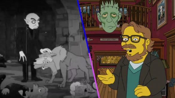 ¡Mira el fragmento de episodio de Los Simpsons donde participó Guillermo del Toro!
