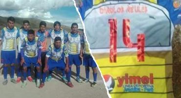 ¡A un lado insectos! Equipo de Perú se ha llamar Deportivo Sayayines y juega con uniforme de Vegeta