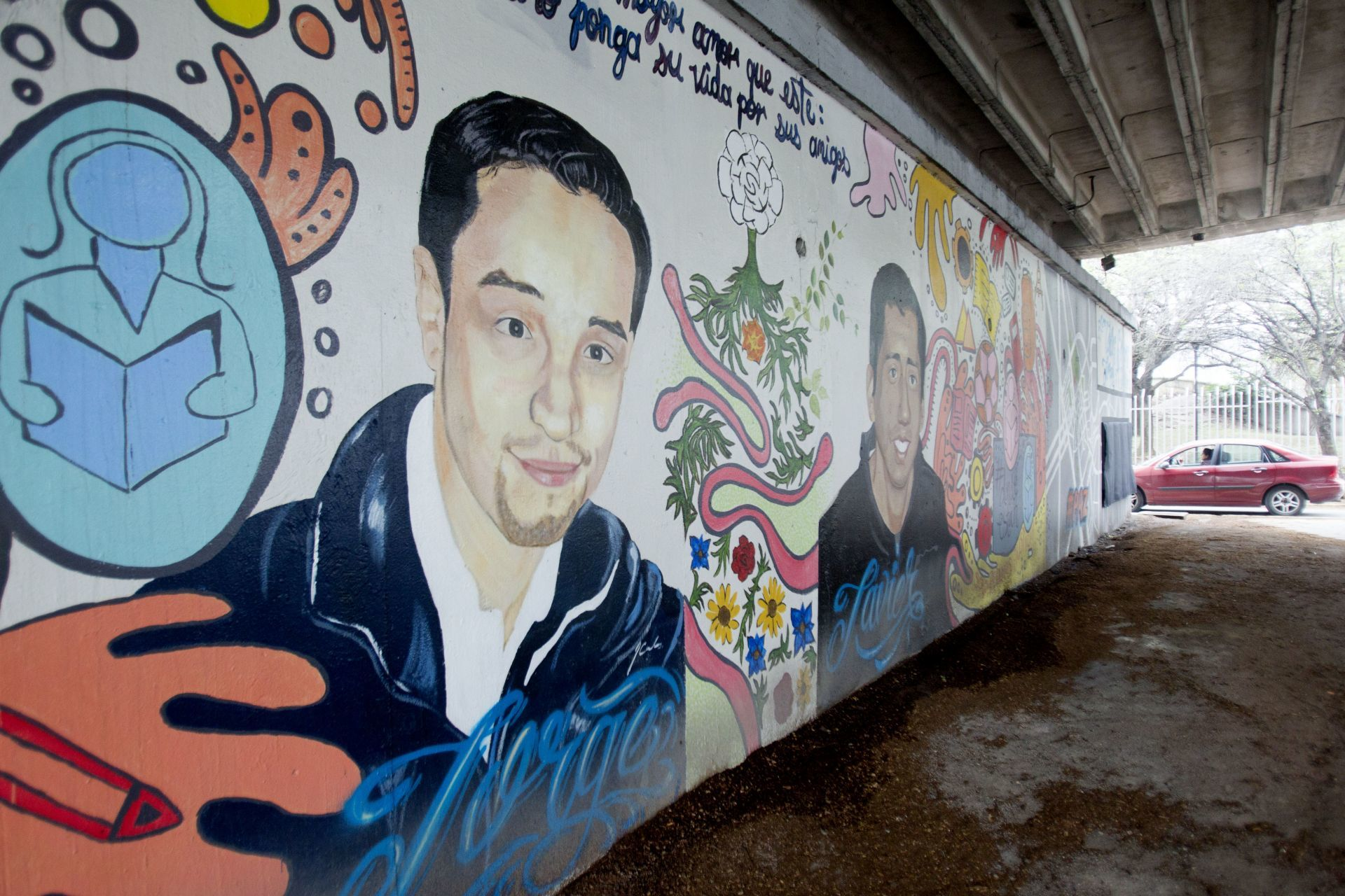 Mural Estudiantes del Tec de Monterrey