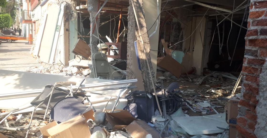 Explosión en una clínica privada de la alcaldía Venustiano Carranza deja un saldo de 14 heridos