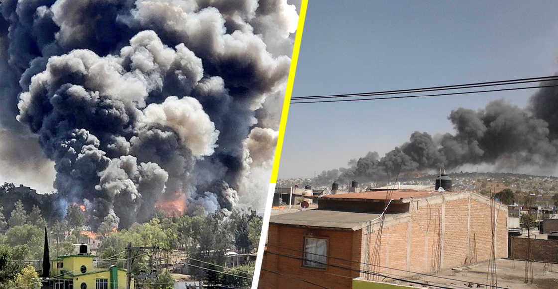 Se registra explosión de un polvorín en Chimalhuacán, Edomex