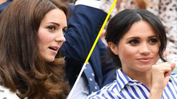 Las 7 palabras que tienen prohibido decir Kate Middleton y Meghan Markle