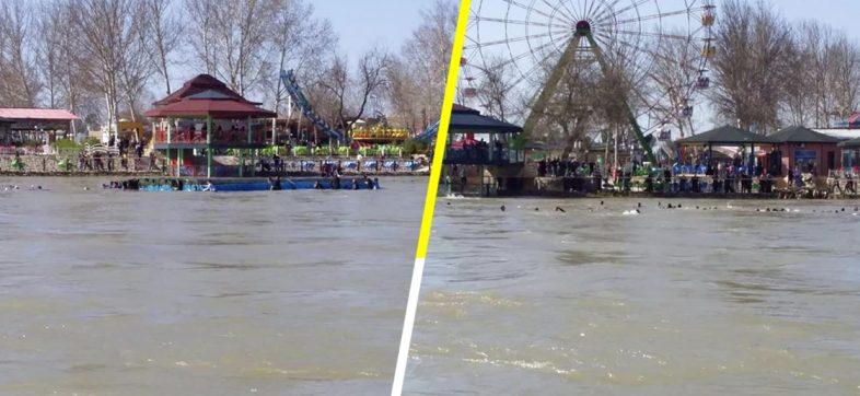 Se hunde ferri en el Río Tigris, Irak, y mueren al menos 71 personas