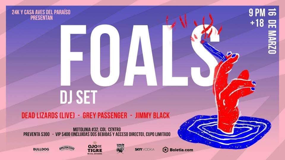 Para afterear a gusto... ¡Foals dará un DJ set tras su show en el Vive Latino 2019!