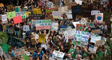 #FridaysForFuture: para exigir medidas contra cambio climático, estudiantes van a