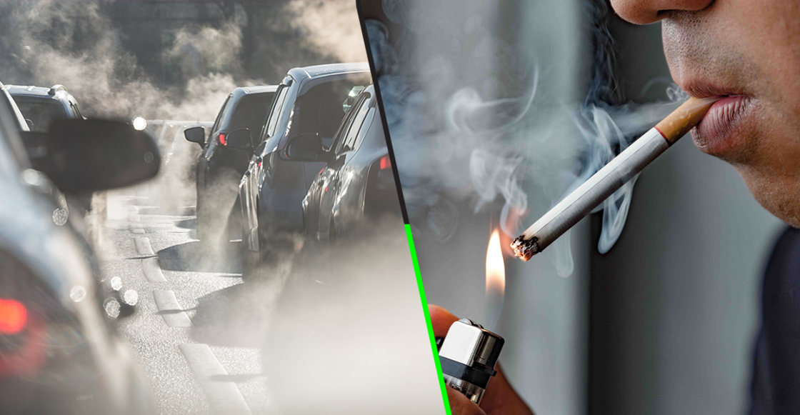 Ni una ni otra: Científicos aseguran que la contaminación mata a más personas que fumar