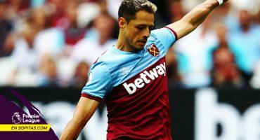 Titular y golazo: 'Chicharito' Hernández marcó su primer tanto con el West Ham en la Premier