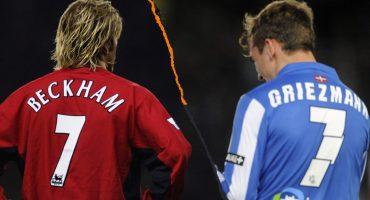 Los 3 aspectos que Griezmann imitó de David Beckham, su máximo ídolo