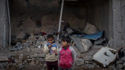 En 8 años de guerra en Siria, han muerto más de 370 mil personas