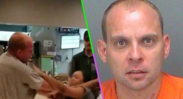 ¿Recuerdan al hombre que golpeó a una chica en McDonald's? Ya fue sentenciado e irá a la cárcel