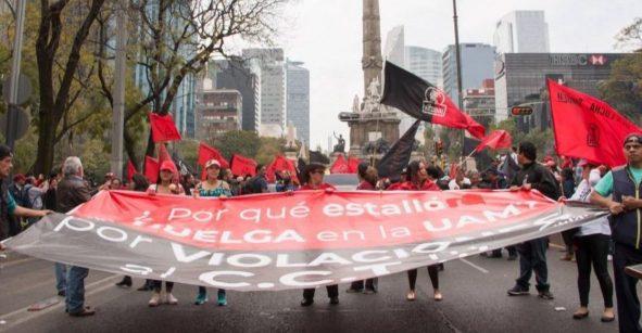 La UAM en la huelga más larga de su historia; sindicato busca audiencia con AMLO