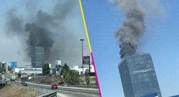 Se reportó un incendio en Torre Titanium, Puebla; ya fue controlado