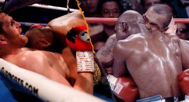 Boxeador se creyó 'Mike Tyson' en plena pelea y le mordió la panza a su rival