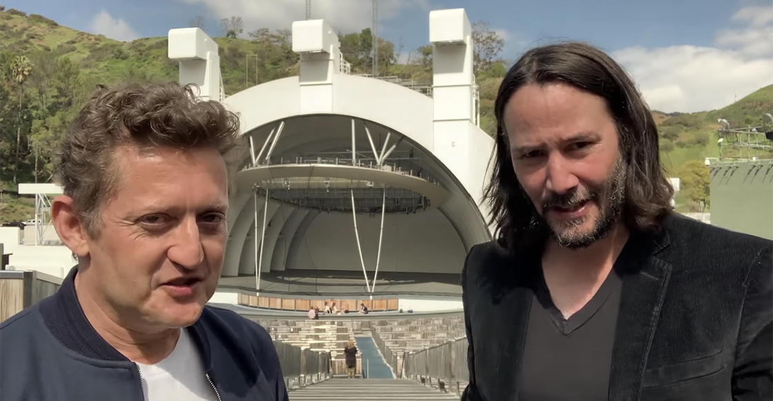 ¡Keanu Reeves y Alex Winter confirman la tercera película de 'Bill & Ted'!