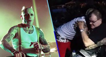 Lagrimita mil: Checa el video en el que Keith Flint abraza a fans con discapacidad