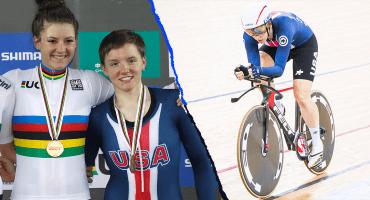 Kelly Catlin, la tres veces campeona del mundo en ciclismo, se suicida a los 23 años de edad