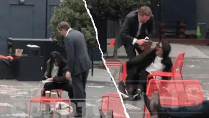 WTF!! Larry Baer, CEO de San Francisco Giants agredió a su esposa en la vía pública