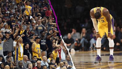 ¡Queremos a Kobe! El divorcio entre LeBron James y los Lakers