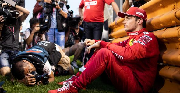 El drama de Leclerc al regalarle el triunfo a Hamilton en el Gran Premio de Bahrein