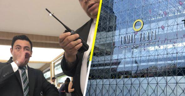Tragedia Godín nivel: La sacan de centro comercial por comer en tupper