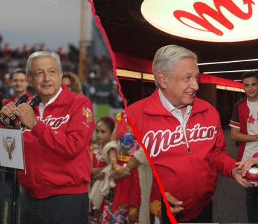 AMLO inaugura el nuevo estadio de los Diablos pese al abucheo del 'equipo fifí'