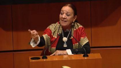 Lucía Trasviña, senadora de Morena