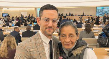Luis Gerardo Méndez habla en la ONU a favor de los derechos de los mexicanos