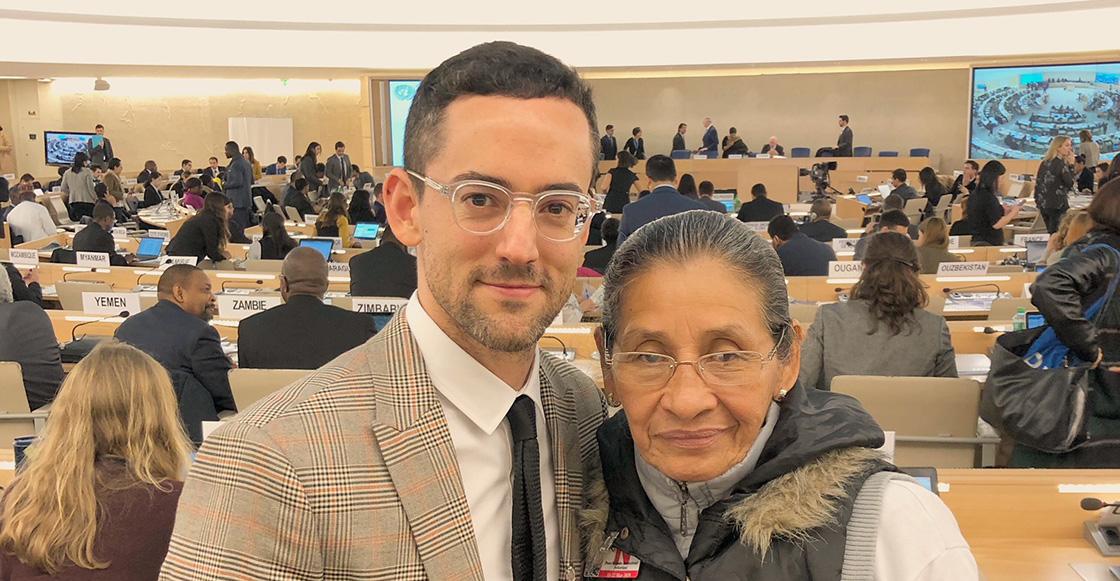 Luis Gerardo Méndez habla en la ONU a favor de los derechos de las mujeres