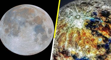 Esta foto revela los verdaderos colores de la Luna 🌛